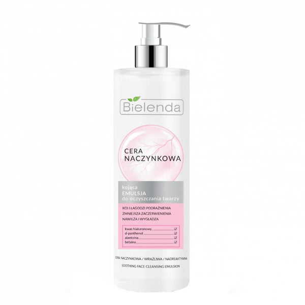 bielenda face wash emulsion for capillary skin