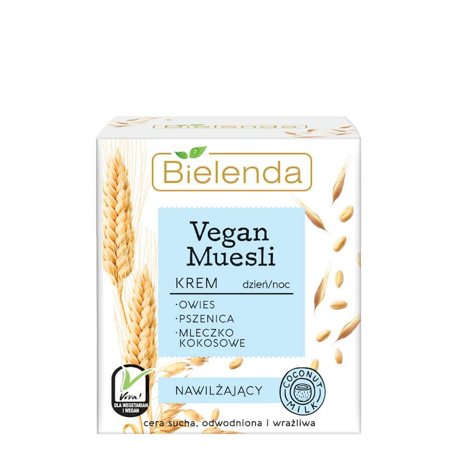 bielenda vegan muesli moisturizing face cream