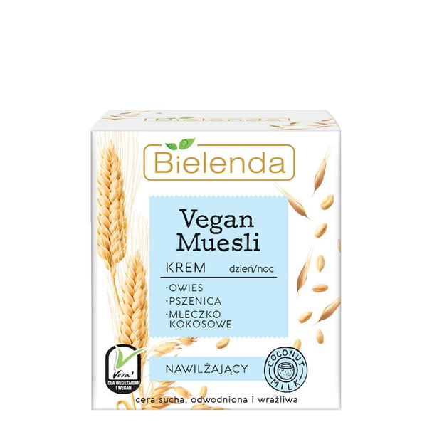 bielenda vegan muesli moisturizing face cream 50ml