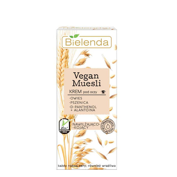 bielenda vegan muesli eye crem for all skin types 15ml tube