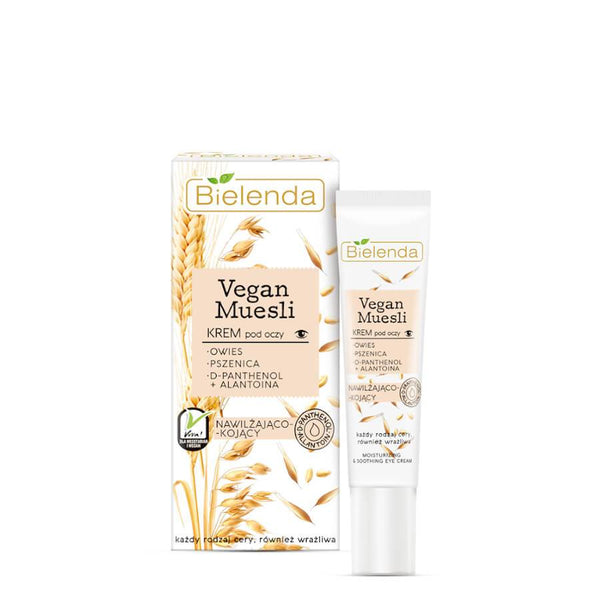 bielenda vegan muesli eye crem for all skin types