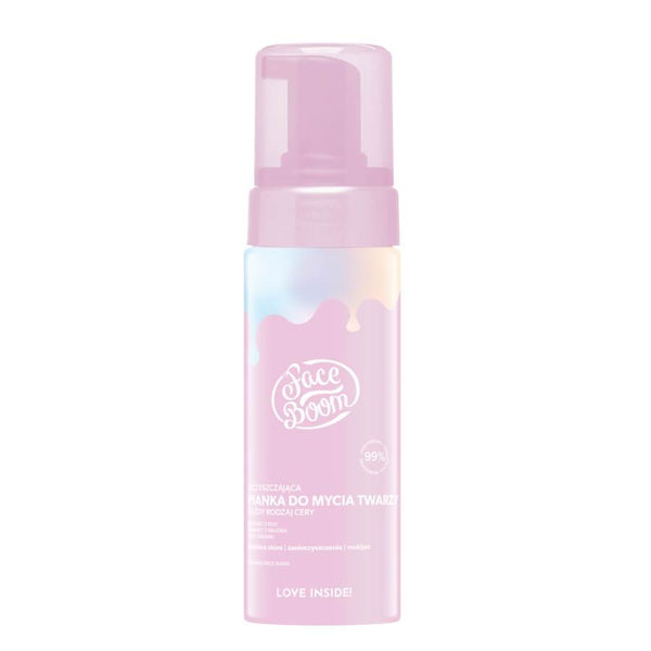 face boom body bomm foaming wash for face all skin types