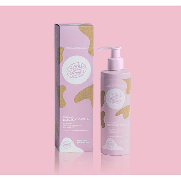 body boom body lotion modeling 250ml vegan  bielenda