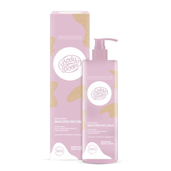 body boom bielenda body lotion modeling 250ml vegan