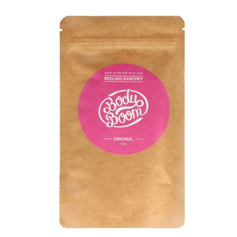 body boom orginal body scrub 100g vegan