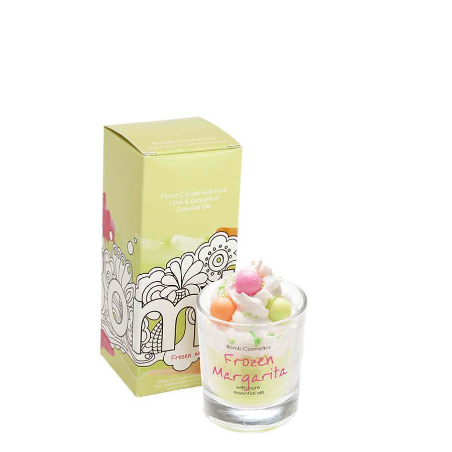 bomb cosmetics frozen margarita candle with oils