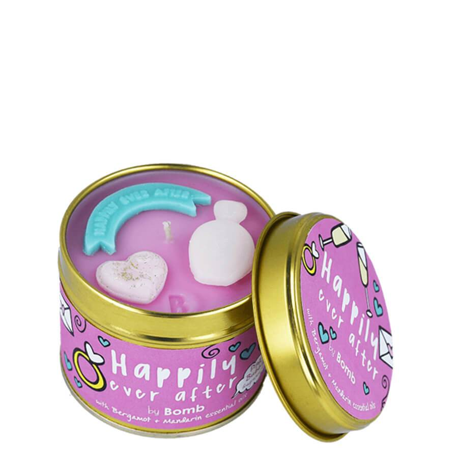 bomb cosmetics home candle happily ever after