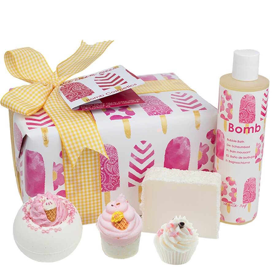 bomb cosmetics gift set ice cream queen pack