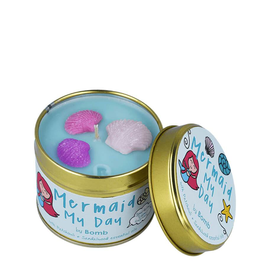 bomb cosmetics home candle mermaid my day