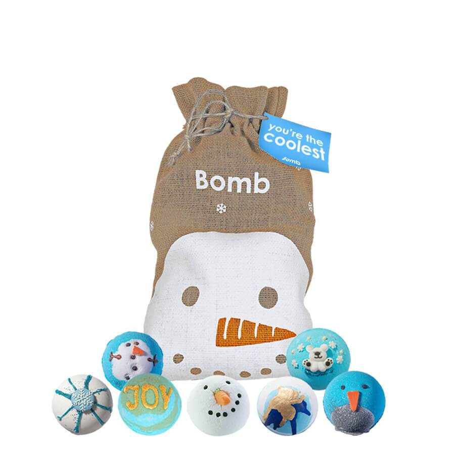 bomb cosmetics body gift set bag you are the coolest