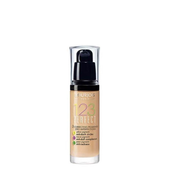 Bourjois 123 Perfect Foundation correcting pigments zero imperfections