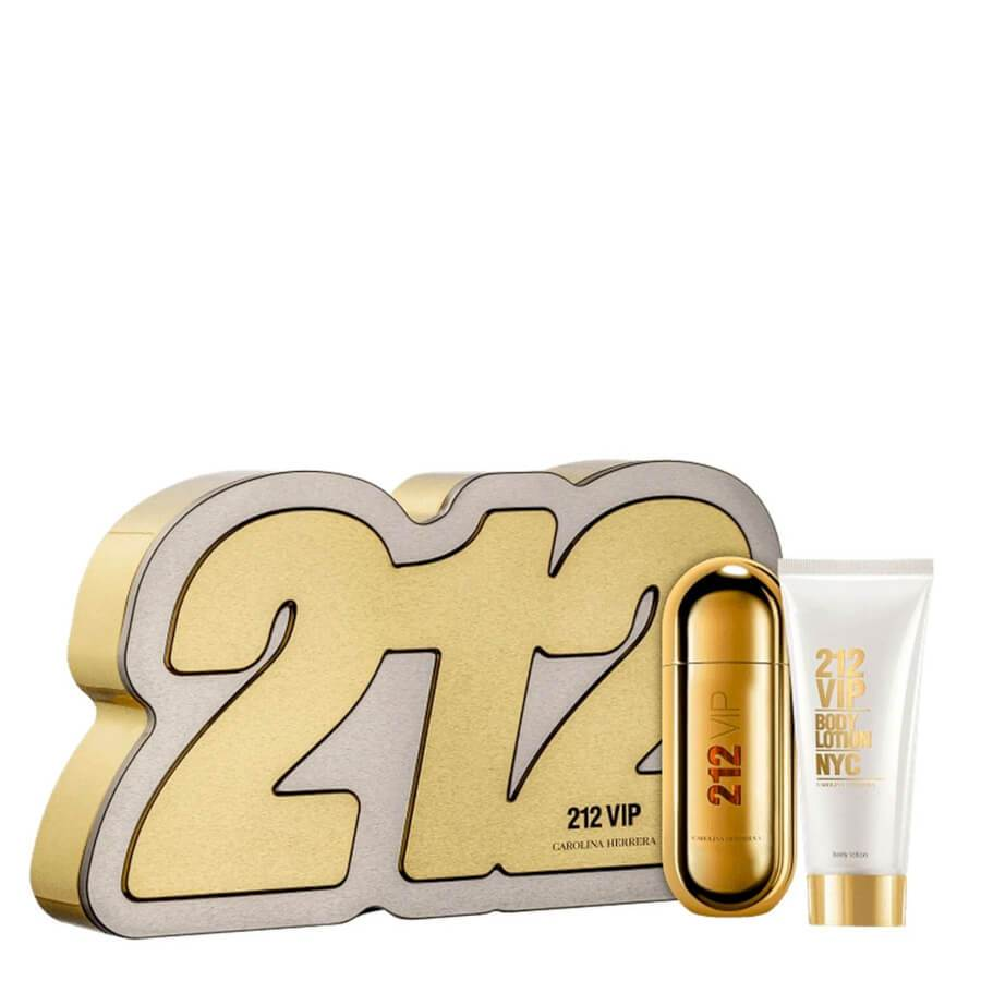 Carolina Herrera 212 VIP Woman Gift Set EDP 80ml & Body Lotion 100ml