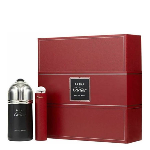 Cartier Pasha Edition Noire Gift Set EDT 100ml & Mini EDT 15ml