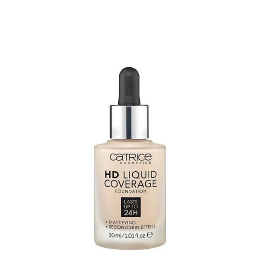 Catrice Cosmetics hd foundation 010 light beige