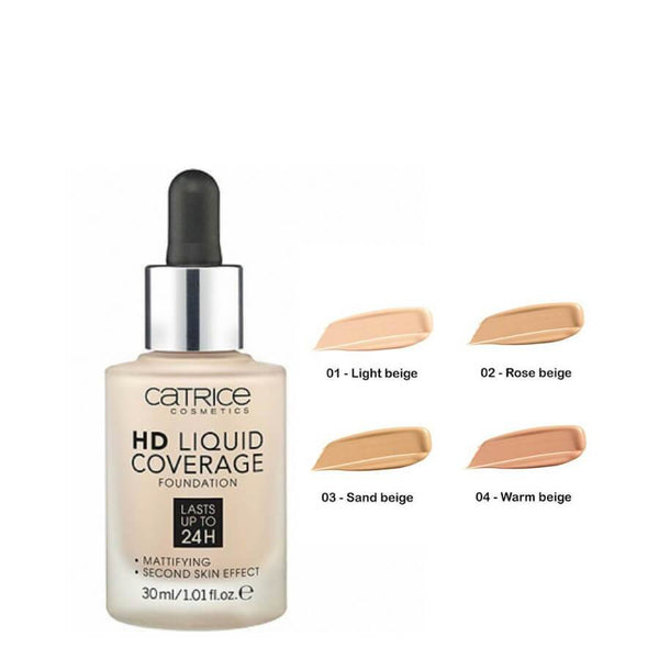 Catrice HD Liquid 24h Coverage Foundation