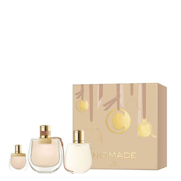 Chloe Nomade Gift Set EDP 75ml + Mini EDP 5ml & Body Lotion 100ml