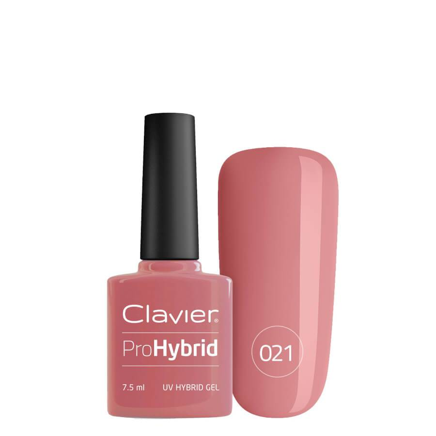 Clavier Pro Hybrid Gel Nail Polish UV/LED 021 Red