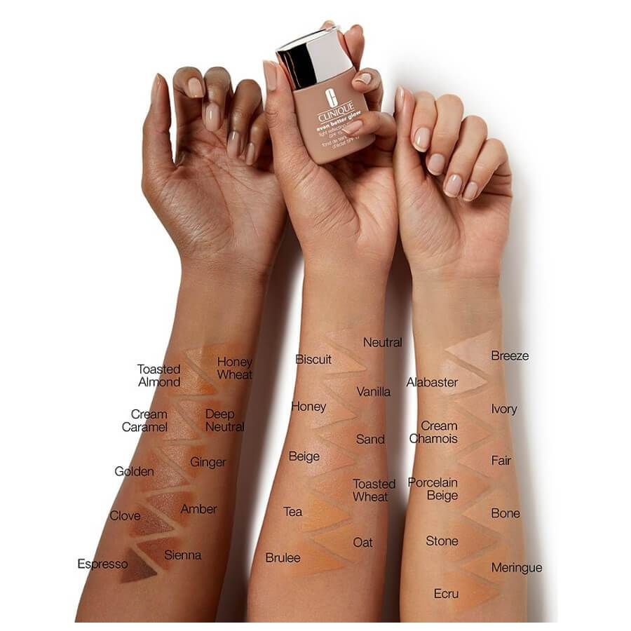 clinique even better glow light reflecting makeup foundation spf15