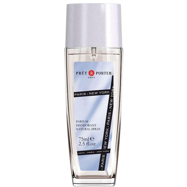 Coty Pret a Porter Deodorant Spray 75ml glass