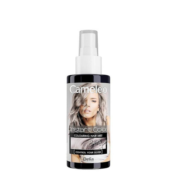 delia cameleo instant color silver colouring hair mist