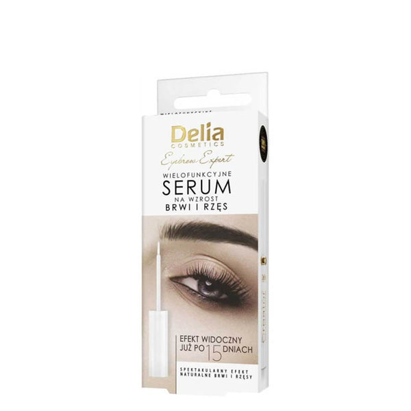 Delia Growth Eyelash Serum Visible Effects in 15 Days