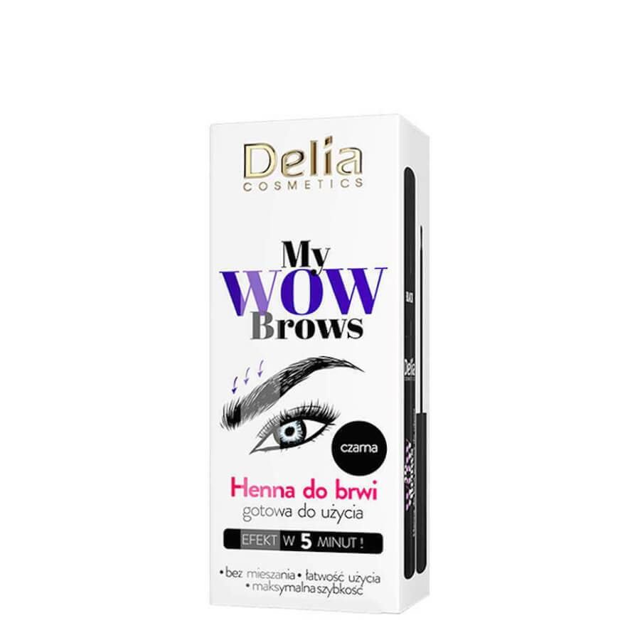 Delia My Wow Brows Eyebrows Henna black