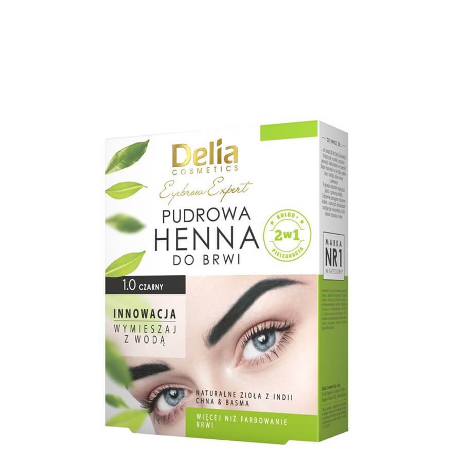 deli apowder henn eyebrow black 4g