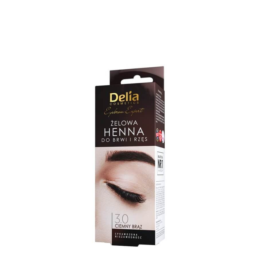 Delia Gel for Eyebrows & Lashes Henna black