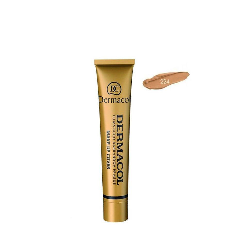 dermacol high covering foundation shade 224