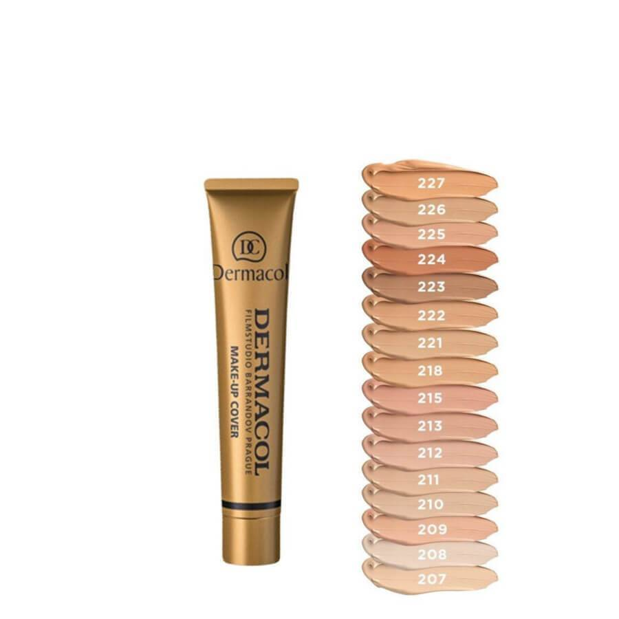 dermacol high covering foundation shade 207