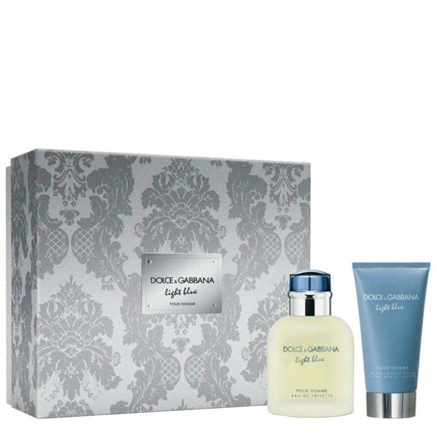 Dolce&Gabbana Light Blue Pour Homme Gift Set EDT 75ml & Aftershave 75ml
