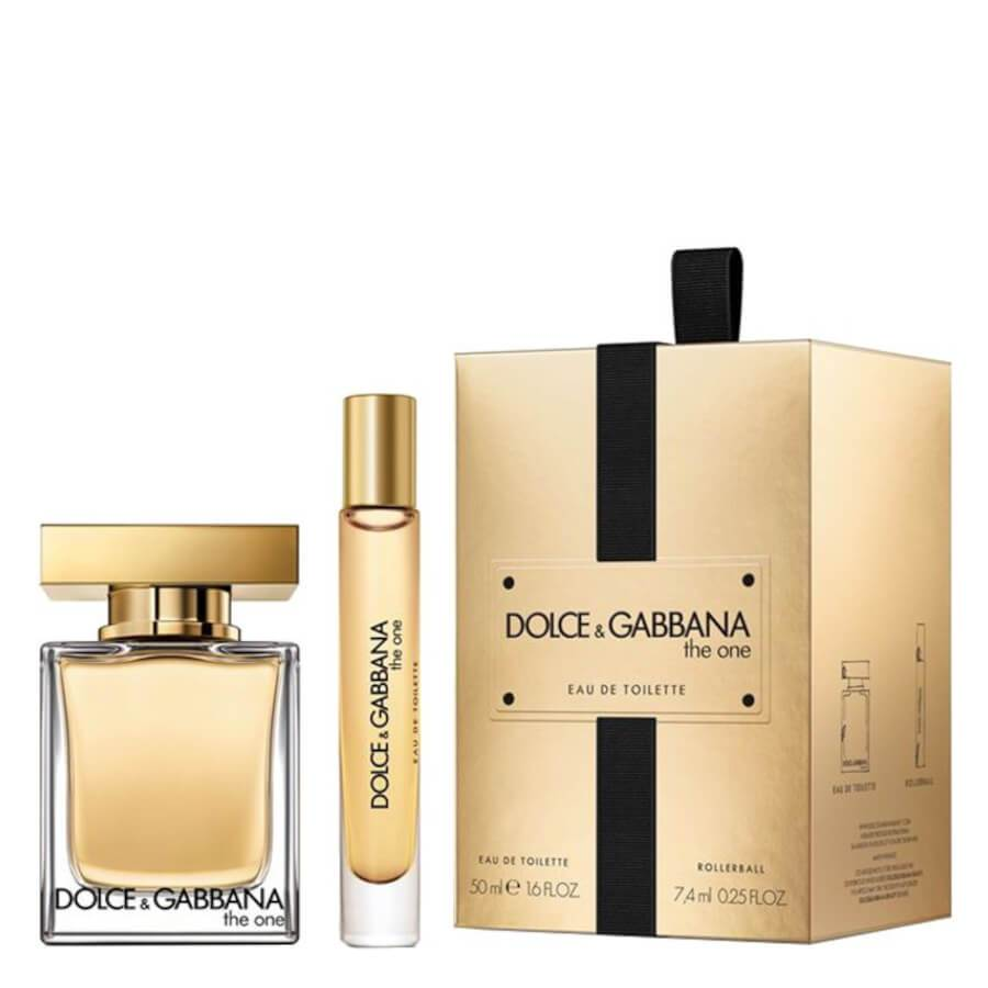 Dolce & Gabbana The One Gift Set EDT 50ml & Rollerball 7.4ml