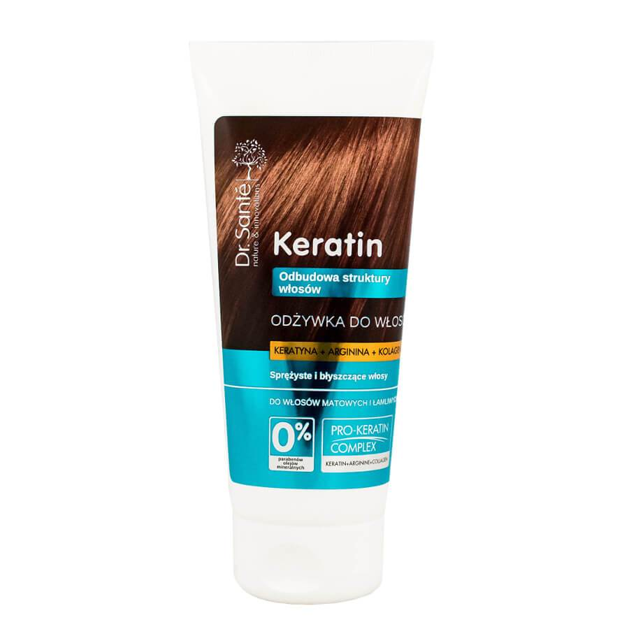 Dr Sante Keratin Conditioner for Dull & Brittle Hair 200ml