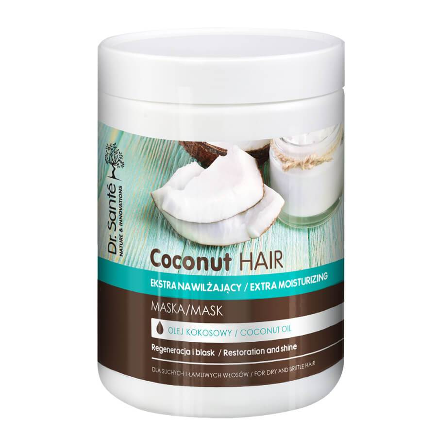 Dr Sante Extra Moisturizing Hair Mask with Coconut Oil 1000ml
