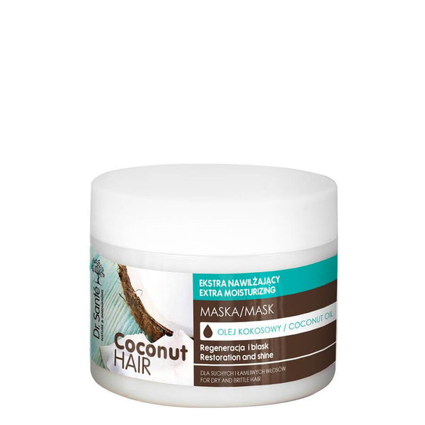 Dr Sante Extra Moisturizing Hair Mask with Coconut Oil 300ml