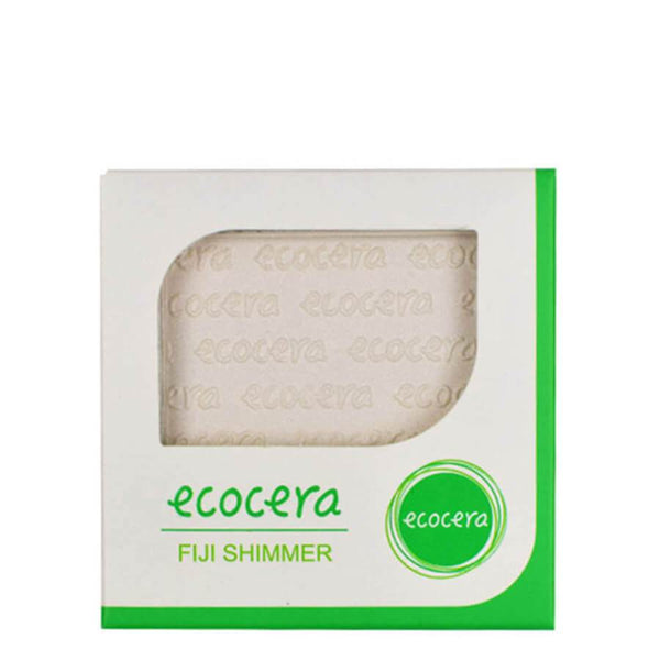 ecocera vegan friendly face shimmer highlighter fiji