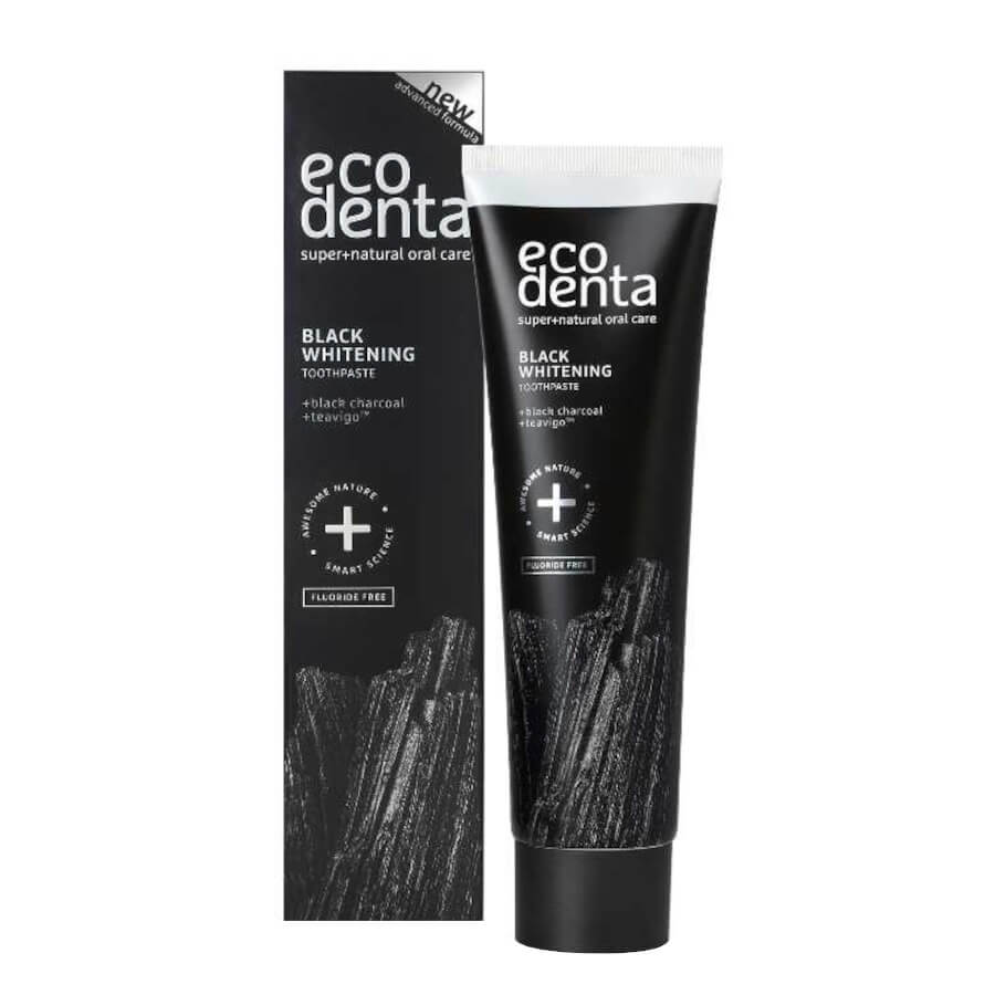 Ecodenta Black Charcoal Whitening Toothpaste 100ml