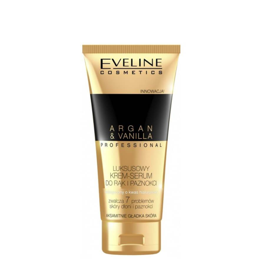 argan and vanilla hand cream eveline cosmetics