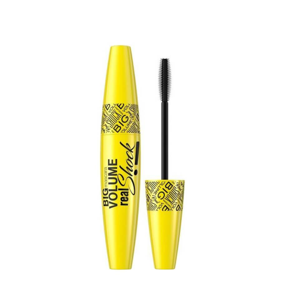 eveline black big volume mascara real shock