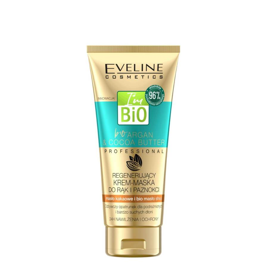 eveline bio argan hand mask cream