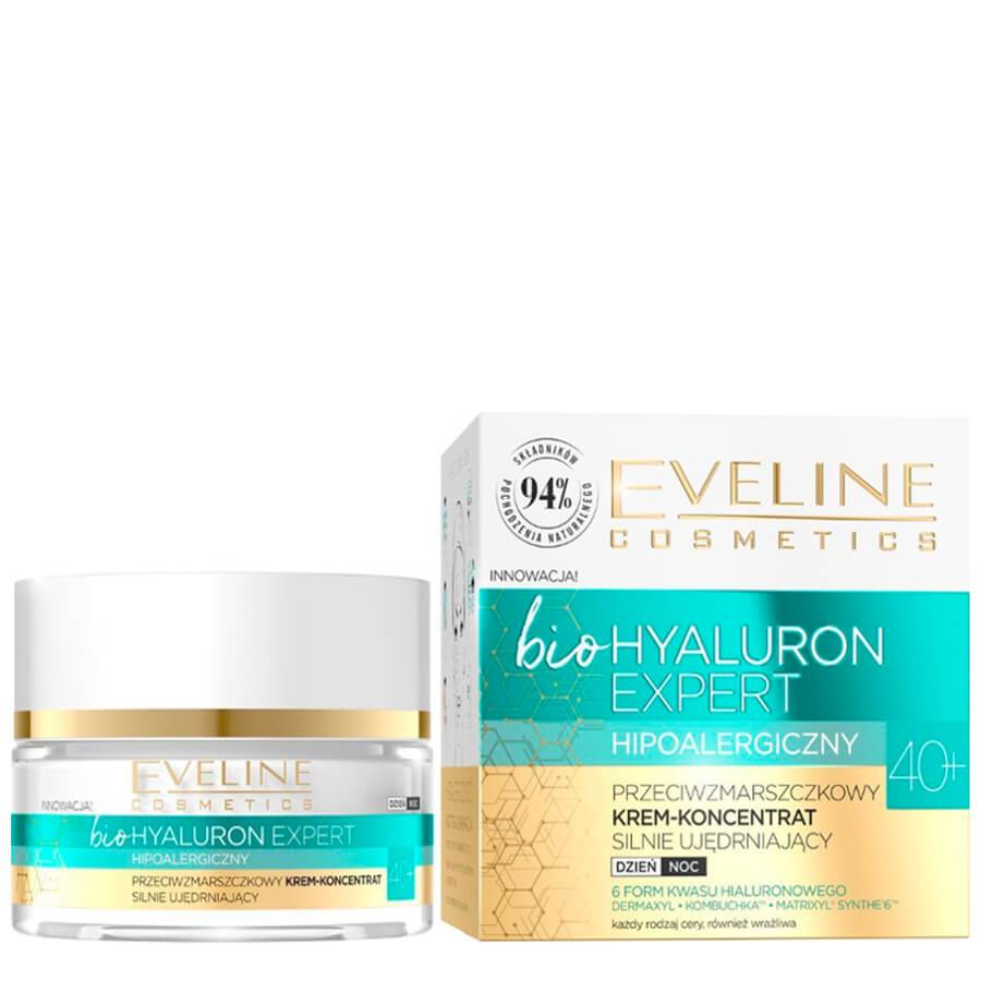 eveline bio hyaluron expert hypoallergenic 40+ anti wrinkle firming face cream
