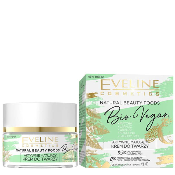 Eveline Natural Beauty Bio Vegan Mattyfing Face Cream