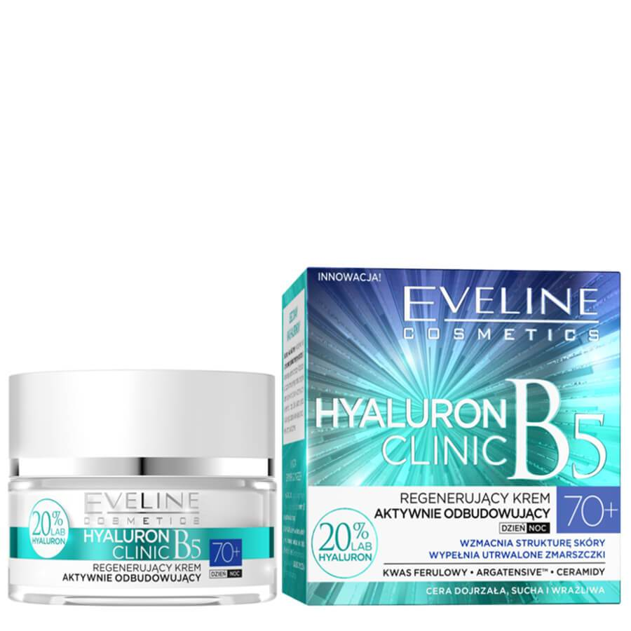 Eveline Hyaluron Clinic Active Regenerating 70yo Cream regenerating reconstructing discolourations