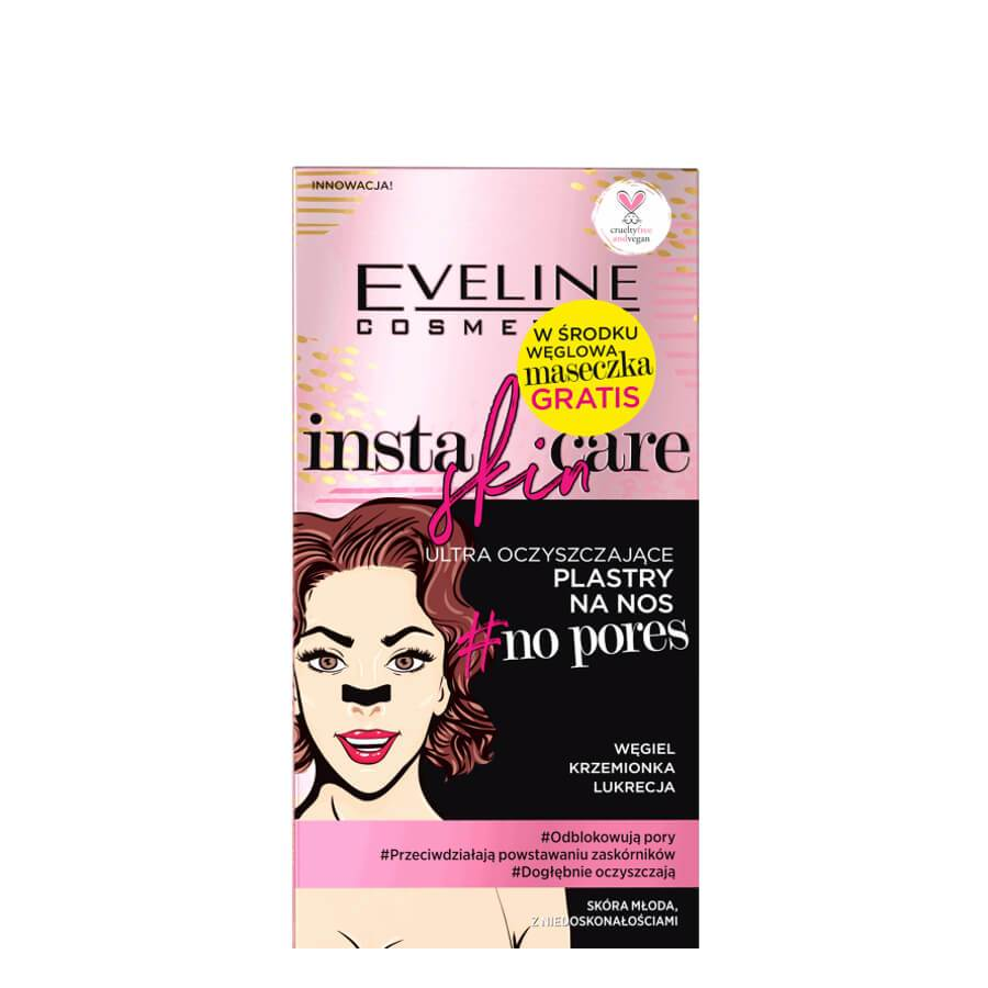 insta skin care no pores eveline cosmetics nose strips