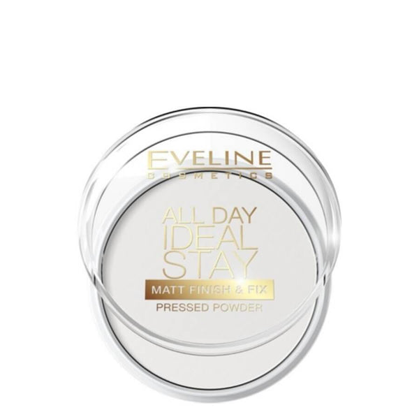 eveline ideal stay pressed powder matt finish