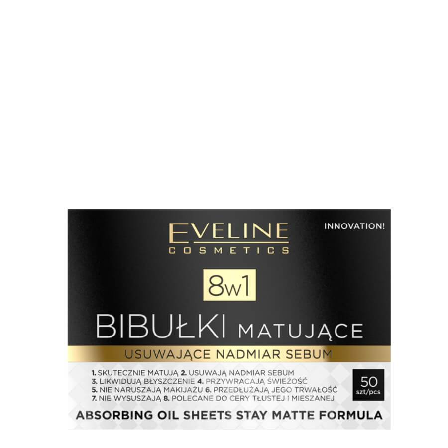 eveline 8in1 absorbing oil sheets stay matte 50pcs