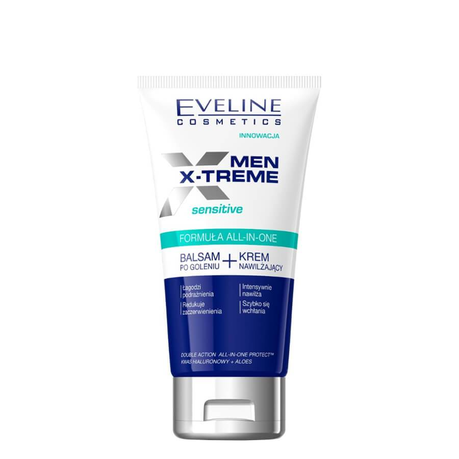 eveline cosmetics after shave balm and moisturizing cream x treme men