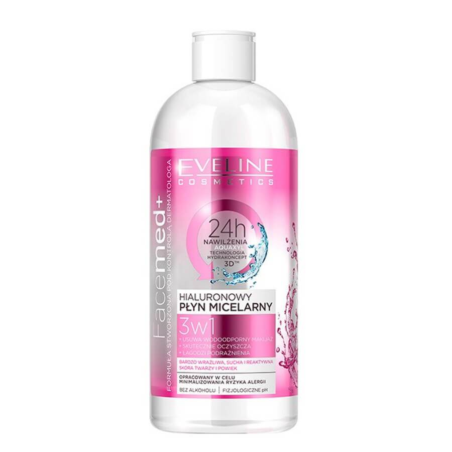 eveline cosmetics facemed micellar water very sensitive skin