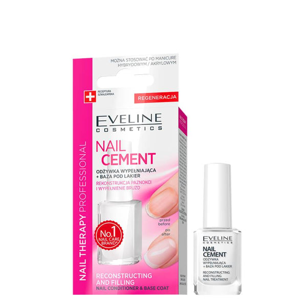 Eveline nail cement conditioner for holes irregularities self levelling base coat
