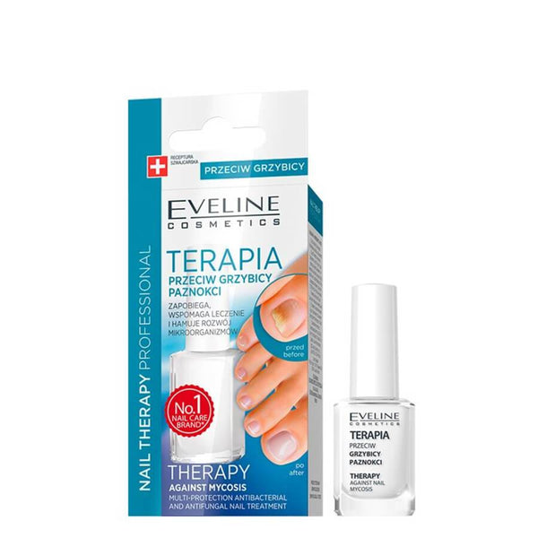 Eveline Antibacterial and Antifungal Nail Therapy Treatment grzybica paznokci eveline nail therapy